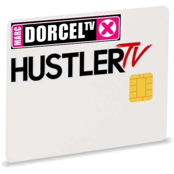 Dorcel Hustler, Astra19, Via, 1Jahr, Smartcard