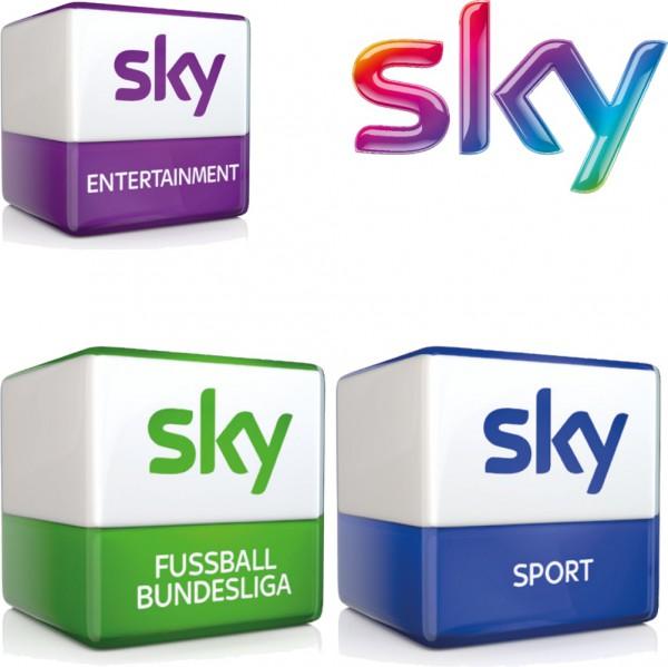 Sky Entertainment und Sky Fußball Bundesliga und Sky Sport, Abo