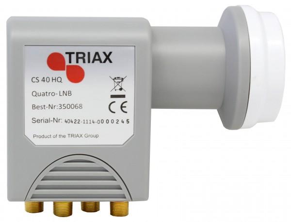 Hirschmann/Triax CS 40 HQ Quattro LNB, < 0.2 dB