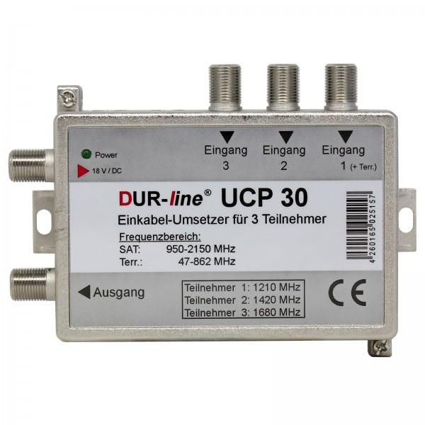 Durasat DurLine UCP 3 SCR- Unicable Umsetzer Router