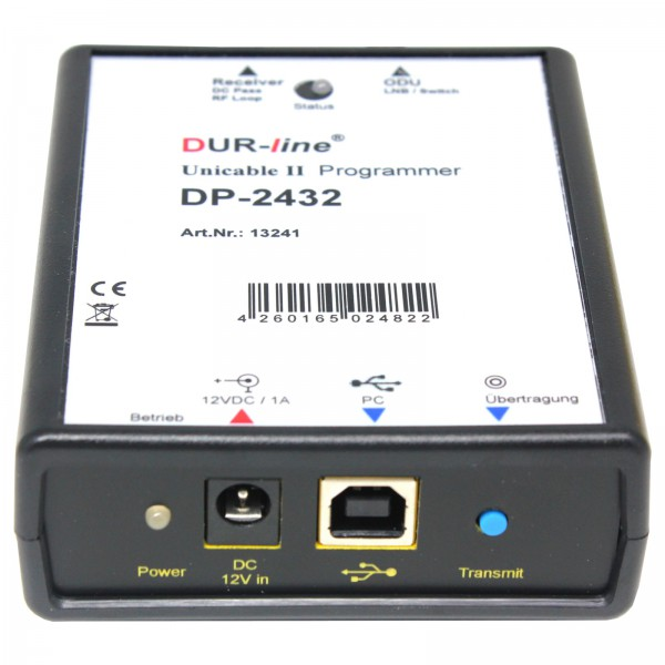 Durasat DurLine DP 2432 Unicable Programmer Leihe €15/Woche; Kaution€145