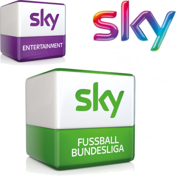 Sky Entertainment und Sky Fußball Bundesliga Abo
