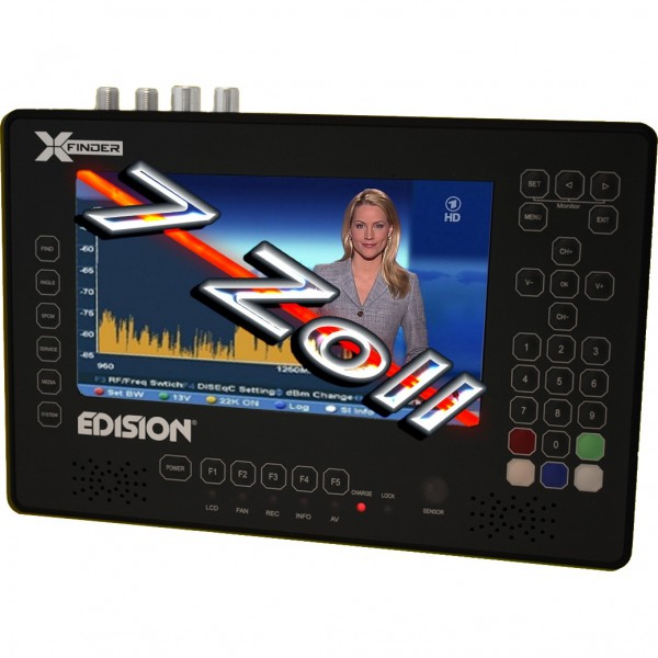 Edision X-Finder DVB-S/S2/T/T2/C Unicable