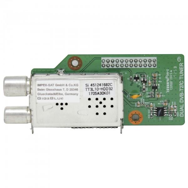 Gigablue Dual DVB-T2/C Tuner