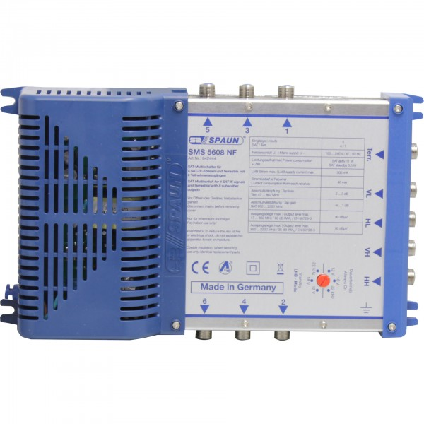 5x 6, Spaun SMS-5608 NF