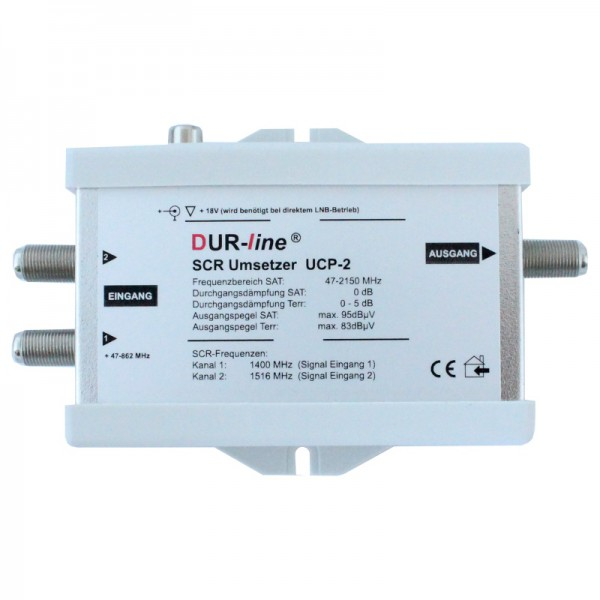Durasat DurLine UCP 2 SCR- Unicable Umsetzer Router