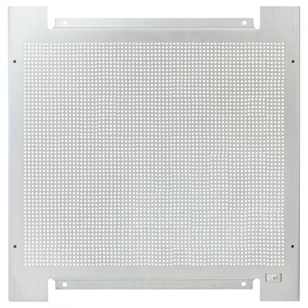 Montageplatte 40x40, Lochraster, Metall