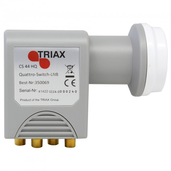 Hirschmann/Triax CS 44 Hq Quad-Switch LNB