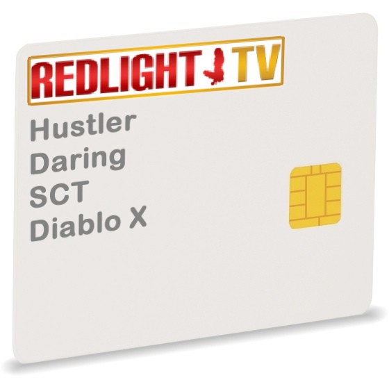 Redlight TV Elite Royal, EutelS13, 15ch.,Via, 1Jahr, Smartcard