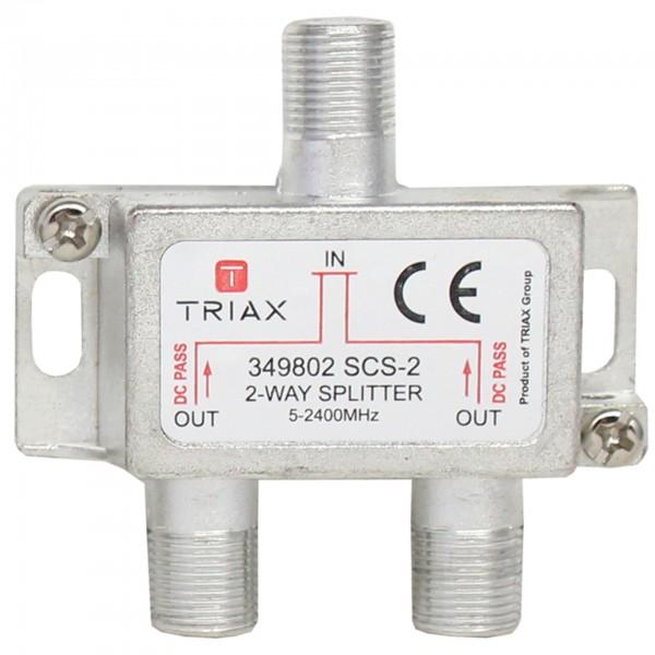 Splitter, SCS2, 2-fach