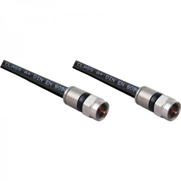 Koaxkabel, 120dB, 6.8mm, 3xSchirm., Class A+, 1,50m