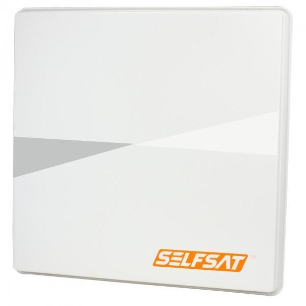 0,52m, Selfsat Kunst hellgrau, H50M2