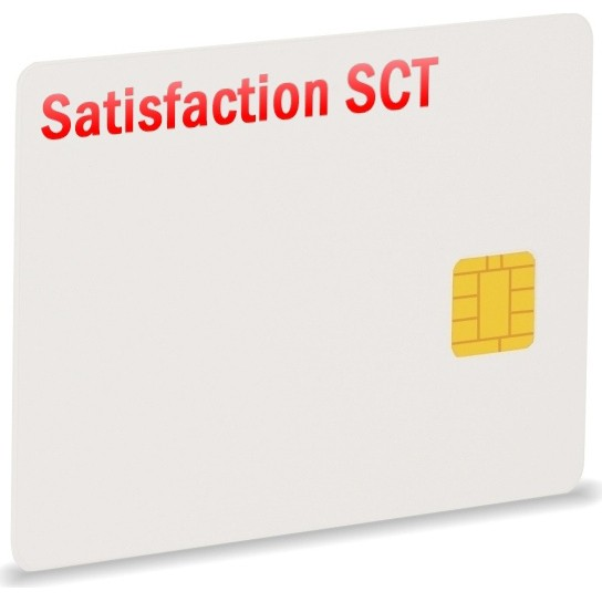 Satisfaction TV SCT, EutelS13, Via, 1Jahr, Smartcard
